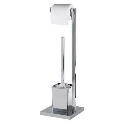 Serviteur WC métal chromé Kubo