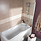 Pare-baignoire 1 volet FORM Brise 70 x 130 cm