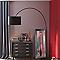 Lampadaire Colours XXL noir H.220 cm