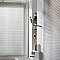 Store vénitien aluminium COLOURS Archi argent 100 x 180 cm