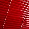 Store vénitien aluminium COLOURS Studio rouge 100x180 cm