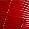 Store vénitien aluminium COLOURS Studio rouge 45x180 cm
