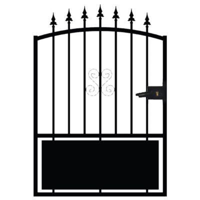 bien choisir un portillon fer pas cher conseils et prix. Black Bedroom Furniture Sets. Home Design Ideas