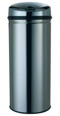 Poubelle à ouverture automatique coloris gris 42L FORM Select