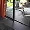 Carrelage sol et mur gris anthracite 30 x 60 cm Lava Stone (vendu au carton)