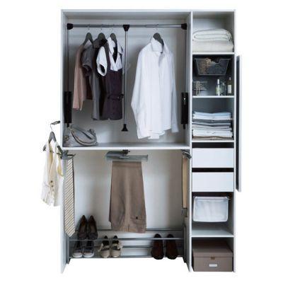 grand panier fil coulissant form pratik castorama. Black Bedroom Furniture Sets. Home Design Ideas