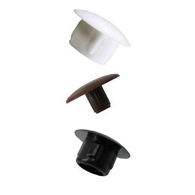8 Obturateurs Cache Trous Plastique Blanc O12 Mm Castorama