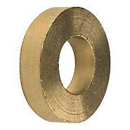6 bagues paumelle laiton Diall Ø8 mm