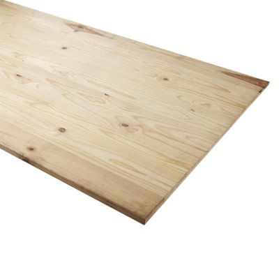 Plateau pin bord droit 150 x 80 cm