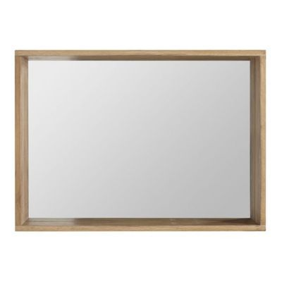 Miroir chêne massif Cooke & Lewis Harmon 90 cm