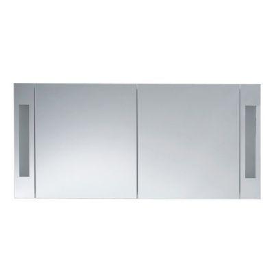 Armoire de toilette gris laqué Cooke & Lewis Seton 120 cm