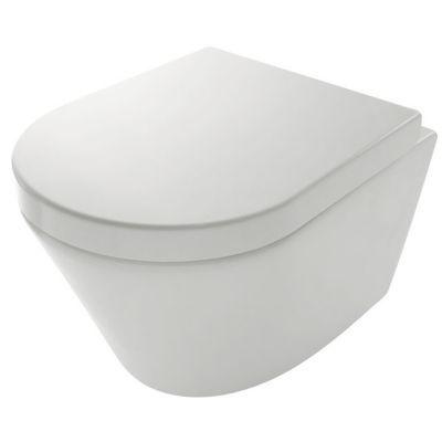 Cuvette wc suspendue cooke lewis bering castorama - Carrelage wc suspendu ...