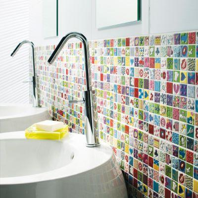 Carrelage Mur Multicolore 25 X 40 Cm Andy Castorama