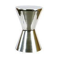 Tabouret métal chromé Kapako