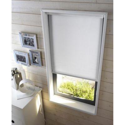 store enrouleur tamisant colours mistral blanc 120 x 190 cm castorama. Black Bedroom Furniture Sets. Home Design Ideas