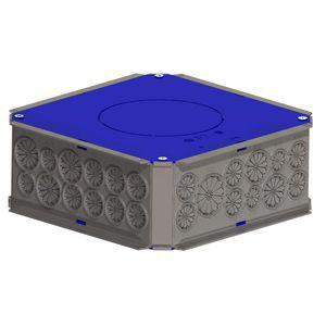 Boîte pavillonnaire pour pieuvre 17.5 x 17.5 x 8 cm. Cette boîte pavillonnaire est idéale pour un raccordement électrique des gaines ICTA ou tubes sans perçage. Caractéristiques techniques de cette boîte pavillonnaire : - Pose : Plafond. Forme : Carré. Co