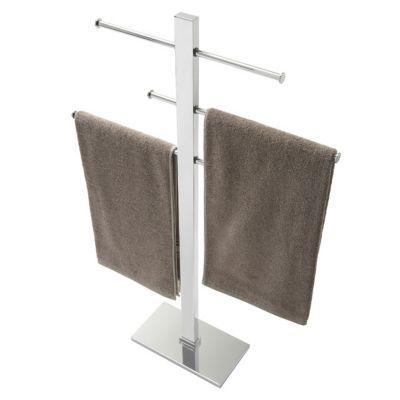 porte serviettes sur pieds laiton cooke lewis bridge. Black Bedroom Furniture Sets. Home Design Ideas