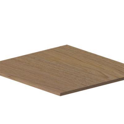 Lot de 2 tablettes décor chêne l. 75 x p. 55 cm Darwin - Dimensions du produit (cm) : L. 75 x P. 55 - Épaisseur (mm) : 18 - Matière : Panneau de particules avec papier décor - Coloris : Chêne - Poids maximum par tablette (kg) : 25 - Quincaillerie fournie