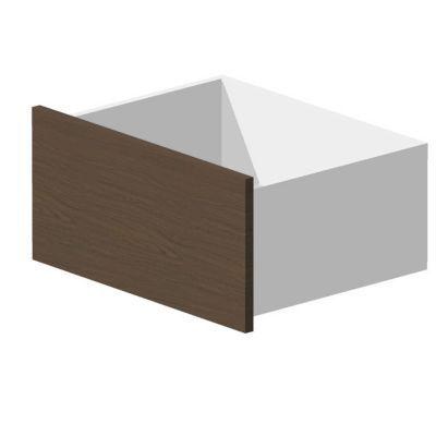 Tiroir décor chêne l. 75 x h. 32 x p. 55 cm Darwin - Matière : Panneau de particules avec revêtement papier décor - Coloris : Chêne - Dimensions (cm) : l. 75 x h. 32 x p. 55 - Tiroir compatible avec caisson L. 75 x P. 56,6 cm (grande profondeur) - Glissiè