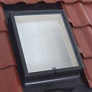 Lucarne de toit ouvrant droit Geom Aero double vitrage 45 x h.60 cm