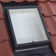 Lucarne de toit ouvrant gauche Geom Aero double vitrage 45 x h.60 cm