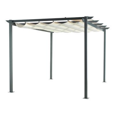tonnelle toit retractable amazing lovely pergola toit en verre pergola ferme par des baies with. Black Bedroom Furniture Sets. Home Design Ideas
