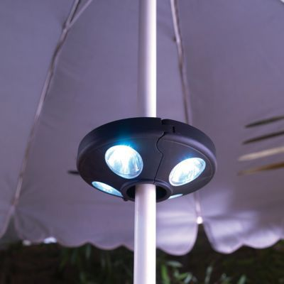lampe pour parasol blooma alinda castorama. Black Bedroom Furniture Sets. Home Design Ideas