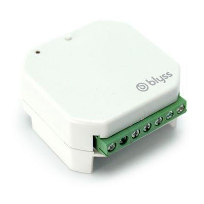 - Micro-module télécommandé encastrable pour motorisation de volet roulant et store BLYSS. Le - micro-module - transformera votre interrupteur de motorisation de volet / store en - interrupteur radiocommandé. - Votre - motorisation - pourra ainsi être - p