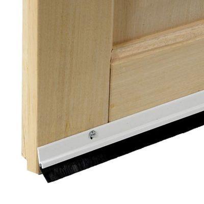 bas de porte brosse visser diall blanc 93 cm castorama. Black Bedroom Furniture Sets. Home Design Ideas