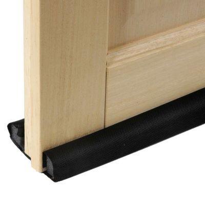 bas de porte double mousse diall noir 93 cm castorama. Black Bedroom Furniture Sets. Home Design Ideas