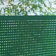 Ecran jardin polyéthylène Blooma vert 10 x h.1,8 m