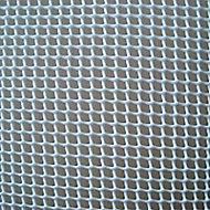 Grillage maille carrée blanc 0,5cm, L. 3 x H. 1 m