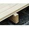 Plancher pour abri de jardin bois Castorama Gent