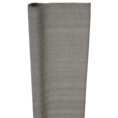 Brise Vue Discret brise vue tissé polyéthylène blooma gris 3 x h.1 m | castorama