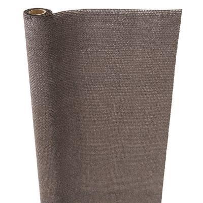 brise vue tiss poly thyl ne blooma brun 3 x h 1 5 m castorama. Black Bedroom Furniture Sets. Home Design Ideas