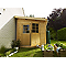 Abri de jardin bois Blooma Inkoo 6,14 m² ép.28 mm