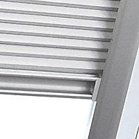 Store double plissé Geom S06 gris