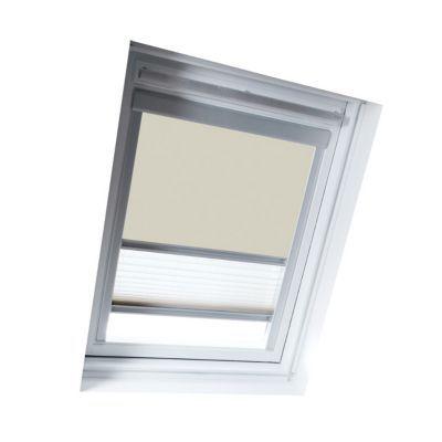 Store duo fenêtre de toit GEOM S06 beige