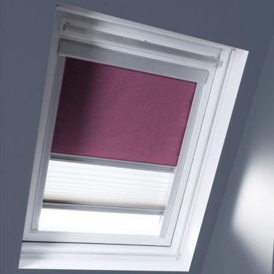 Store duo fenêtre de toit GEOM C02 figue
