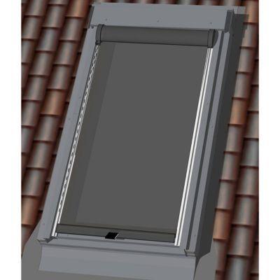 Store extérieur fenêtre de toit GEOM noir C02 C04