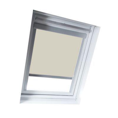Store occultant fenêtre de toit GEOM M04 beige