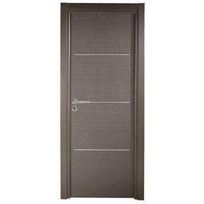 bloc porte geom triaconta gris clair 63cm poussant droit