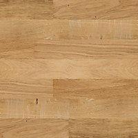 Barre de seuil 3 en 1 Chêne brut 93cm