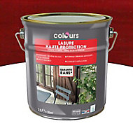 Lasure Rouge 8 ans Colours - 2.5 L