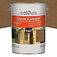 Lasure Ton chêne moyen 4 ans Colours - 5 L