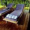Lame de terrasse pin thermo Blooma Iluka L.240 x l.11,7 cm