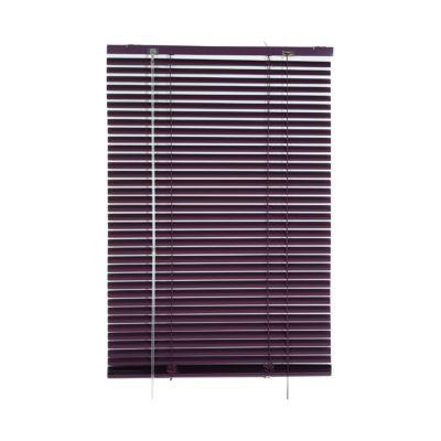 Store Vénitien Aluminium Colours Violet 60 X 180 Cm Castorama