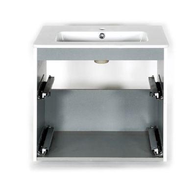 ensemble de salle de bains cooke lewis volga 60 cm castorama. Black Bedroom Furniture Sets. Home Design Ideas