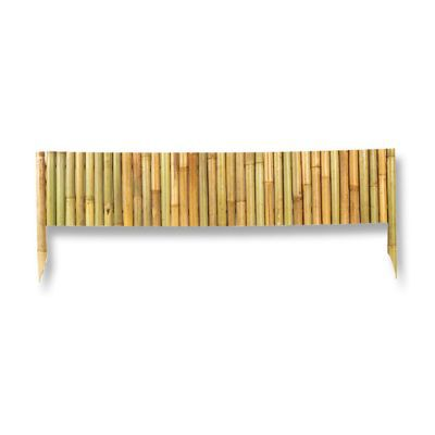 Bordure Bamboo Blooma Naturel L 100 X H 35 Cm Castorama