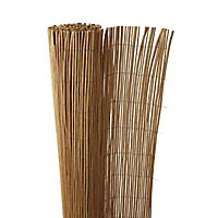Canisse osier naturel pelé Blooma 3 x h.1,5 m